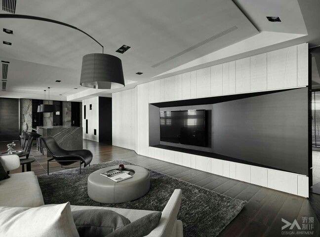 #tv #in #living #room #design