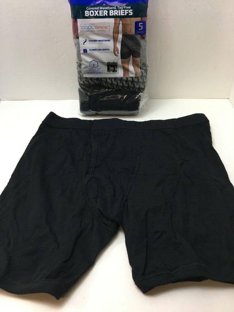 Cute Animal Face Boxer Briefs Mens Underwear Pack Seamless Comfort Soft