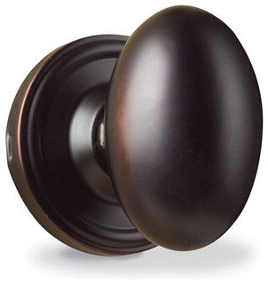 I\'d like these oval, oil rubbed bronze door knobs throughout my one ...