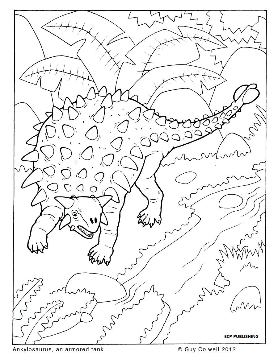 33+ Dinosaur coloring pages for kids ideas