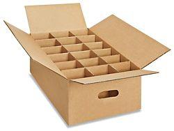 24 X 12 X 6 275 Lb Glass Pack Kit S 13273 Plastic Box Storage