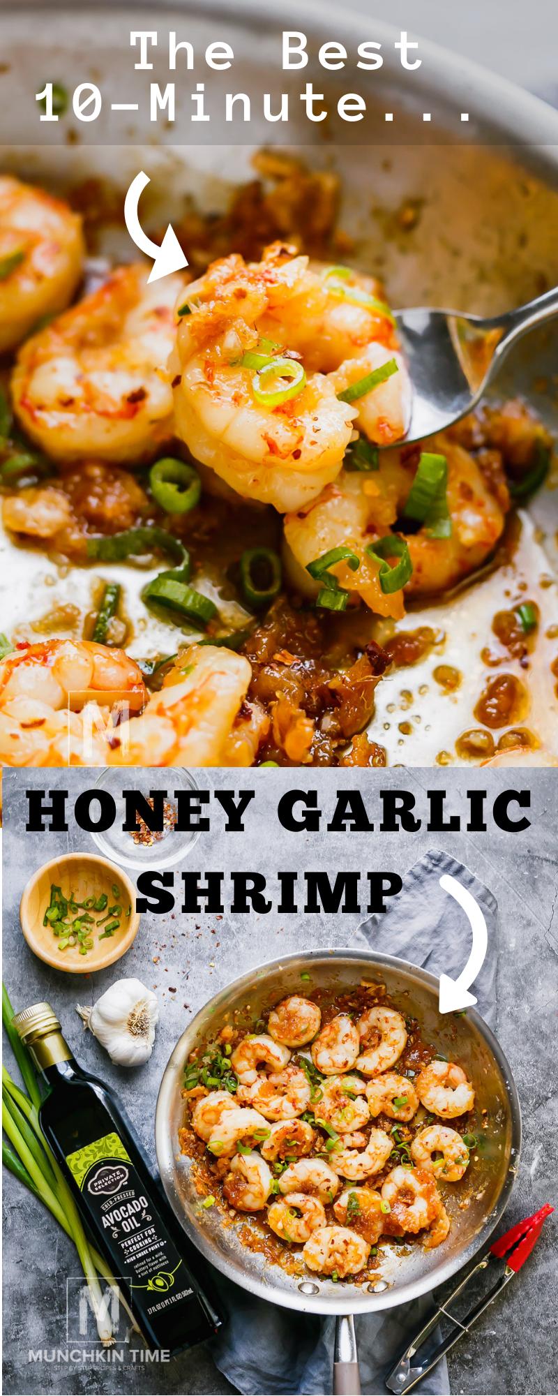 10-minute Shrimp Recipe #garlicshrimprecipes