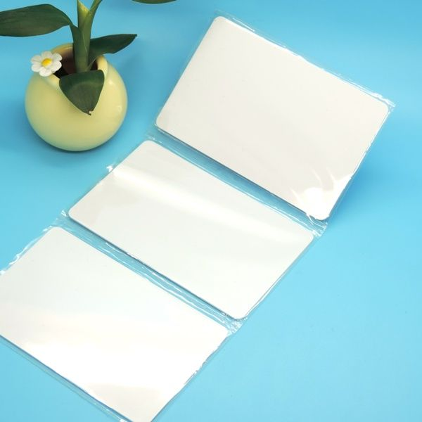 photo regarding Printable Plastic Sheets called MIFARE Clic 4K Printable Card and UID COMBI WHITE CARD