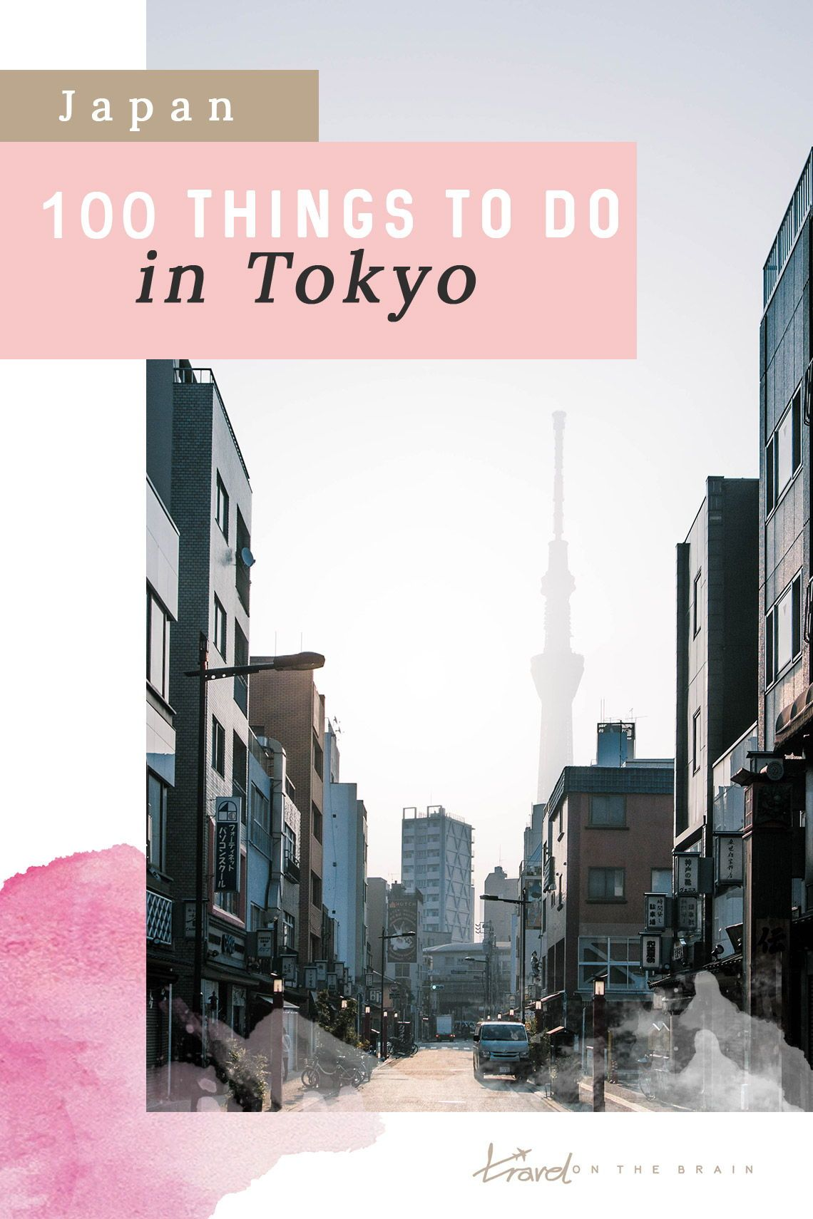 Travelling Tokyo, Japan? Here are 100 cool things for places in Tokyo you can explore and fun activities you can do. #tokyo #japan #tokyojapantravel #tokyojapan #tokyotripplanning #tokyothingstodo