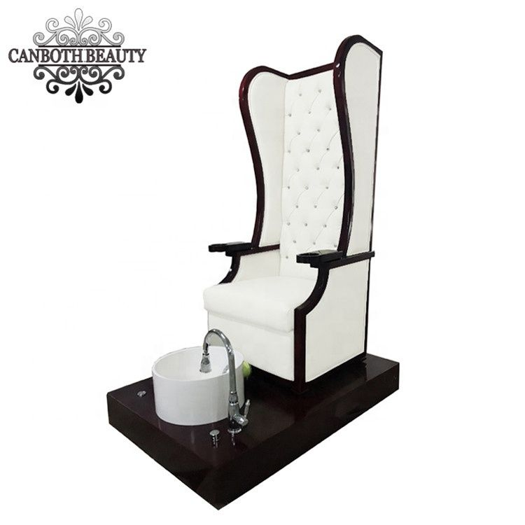 Super Spa Queen Pedicure Chair White For Nail Salon Furniture Cb Gamerscity Chair Design For Home Gamerscityorg