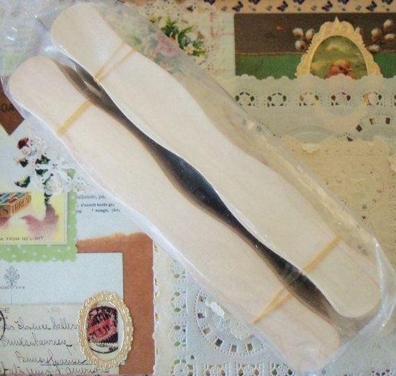 100 Natural Wavy Jumbo Wood Fan Handles Wedding Fan Sticks Eight Inches Wedding Fans Handmade Wedding