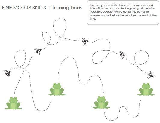 Fine Motor Skills Worksheets and Printables