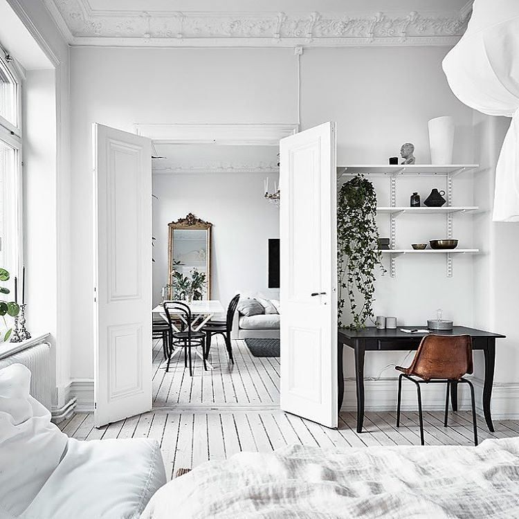 "4,519 tykkäystä, 25 kommenttia - NORDIK SPACE (@nordikspace) Instagramissa: ""Another one of those beautifully styled bedrooms. via @entrancemakleri #scandinavian #interior…"""