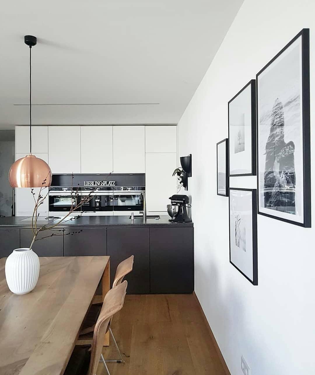 Offene Moderne Küche: Offene Küche Mit Esstisch