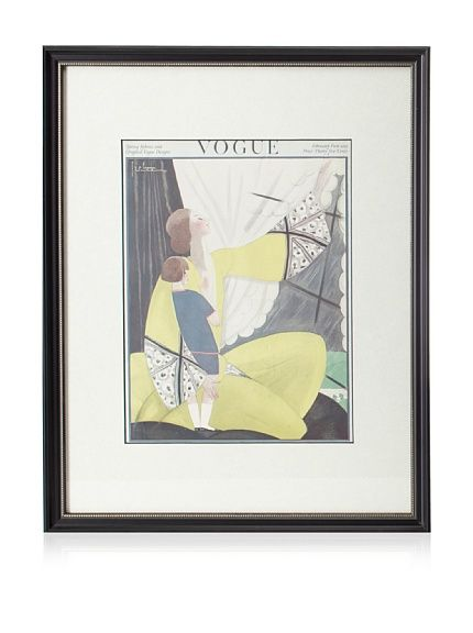 Original Vogue Cover from 1922 by Georges Lepape at MYHABIT