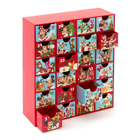 mickey mouse advent calendar gift ideas disney. Black Bedroom Furniture Sets. Home Design Ideas