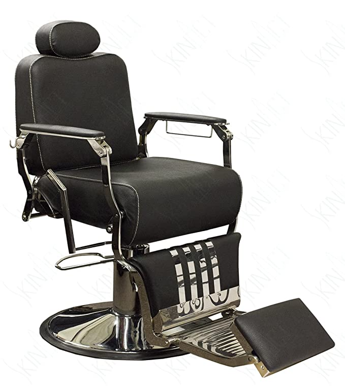 Amazon Com Theo Vintage Barber Chair Styling Salon Beauty By Skin Act Beauty Anti Aging Skin Products Barber Chair For Sale Barber