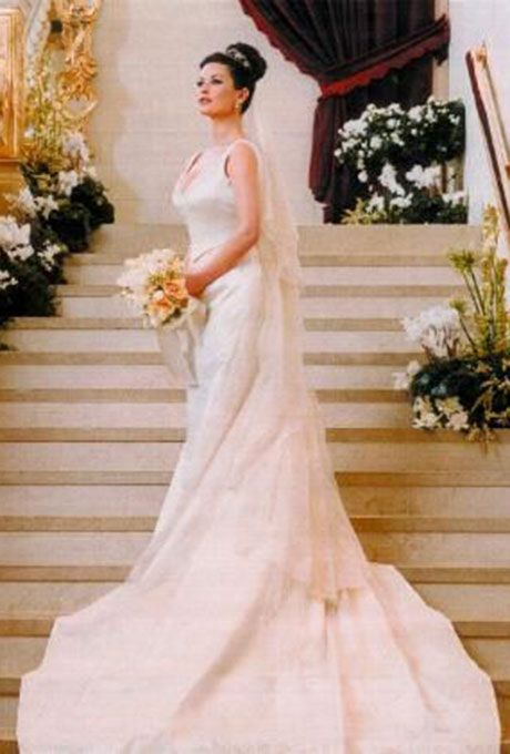 The Most Beautiful Celebrity Brides of All Time Catherine zeta