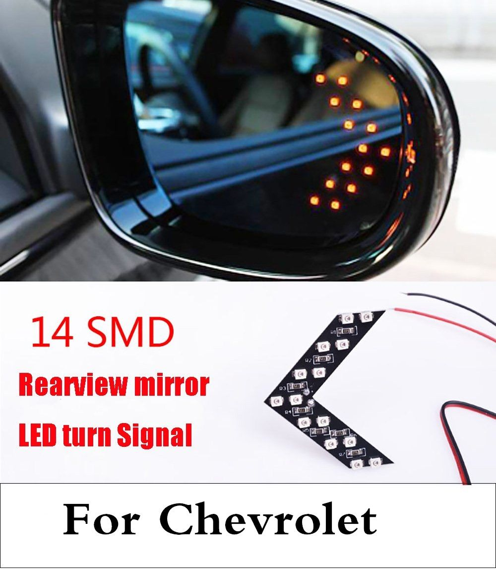 Arrow Panel Rearview Side Mirror Car Turn Signal Lamp For
