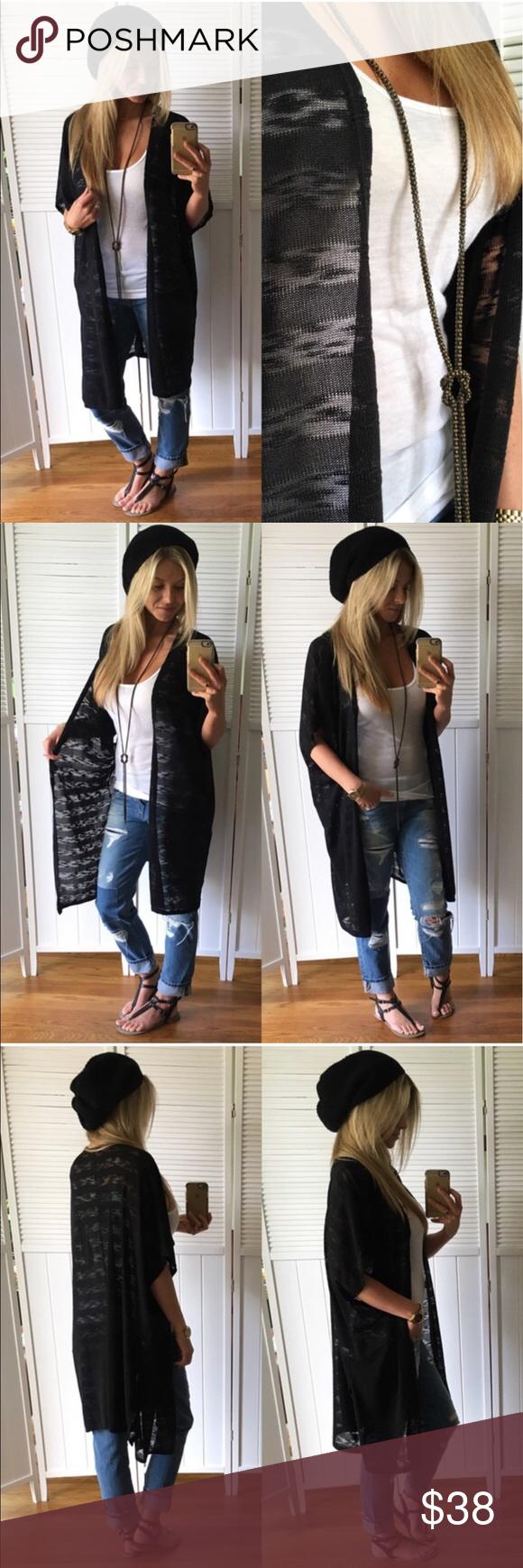 Short Sleeve Summer Cardigan Reposh: @mrsperkins. Brand new! Very ...