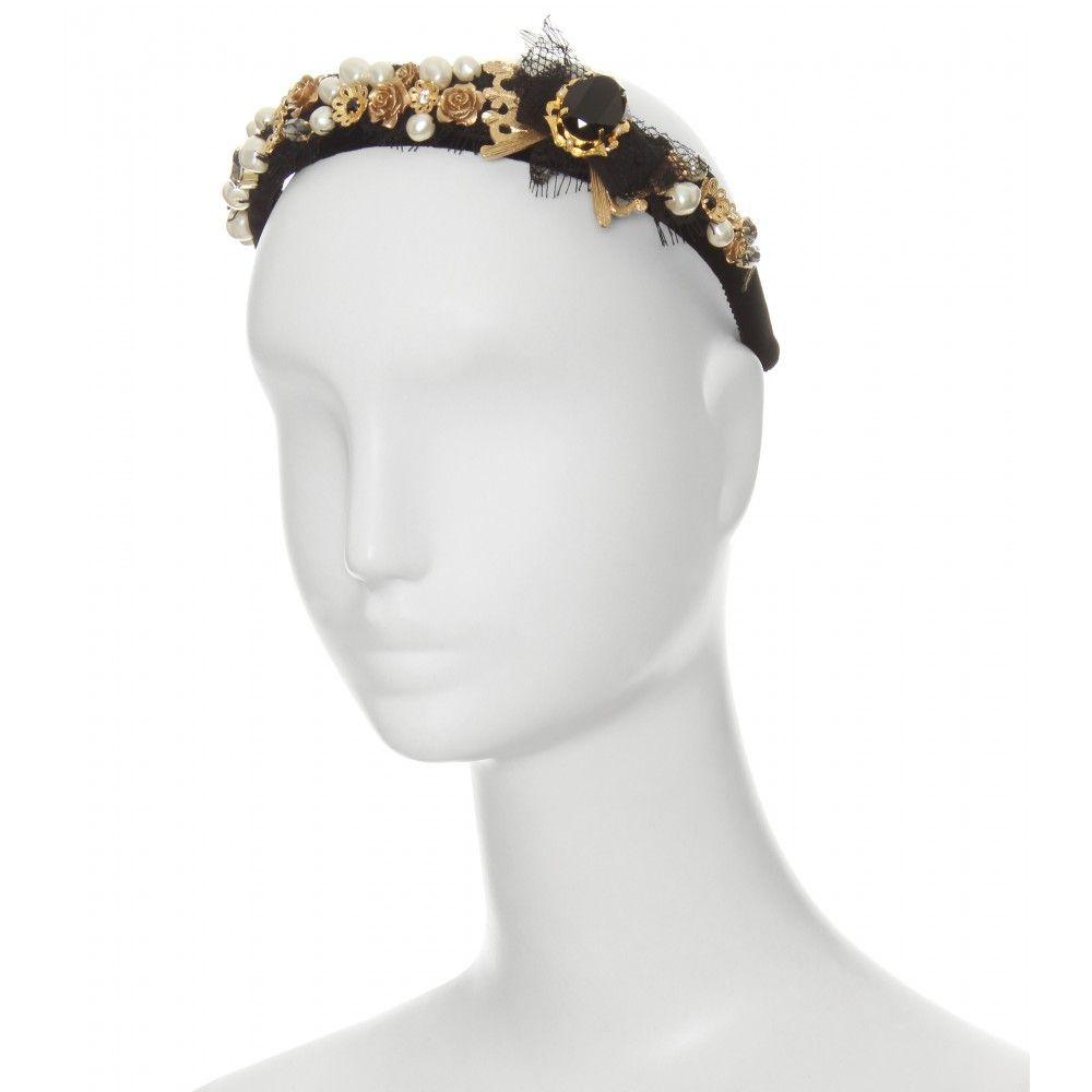dolce & gabbana - embellished headband | love this! | pinterest