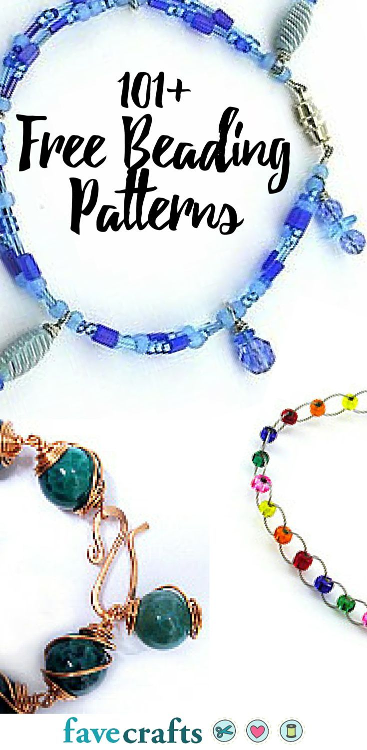 101 Free Beading Patterns Homemade Jewelry Jewelry