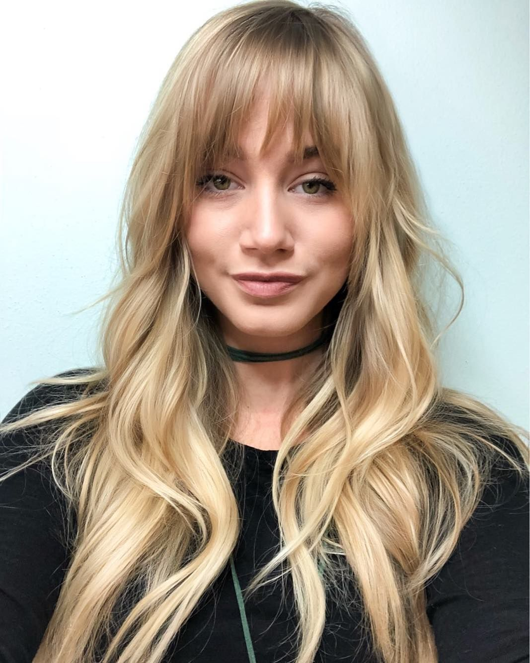 bangs layered haircuts fringe susan ford hairstyles change layers subtle length therighthairstyles