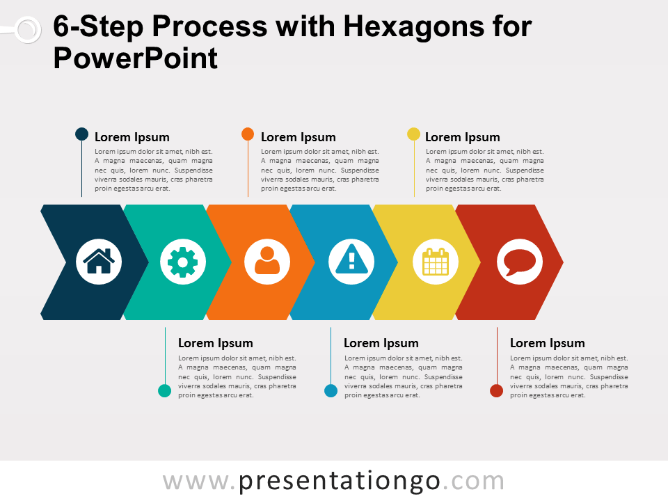 pin on powerpoint diagrams  process flow diagram design images #7