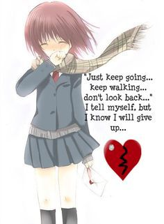 Anime Girl Heartbroken : anime, heartbroken