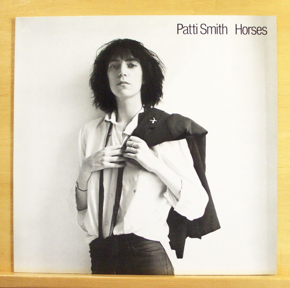 PATTI SMITH Horses - Vinyl LP - Gloria Birdland Break it up Elegie Top RARE