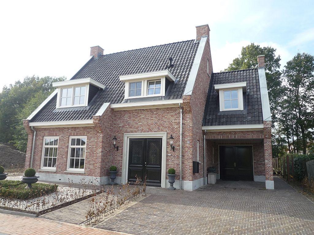 Nieuwbouw woning klassieke engelse stijl wonen pinterest ext rieur belle maison et int rieur - Deco stijl chalet ...