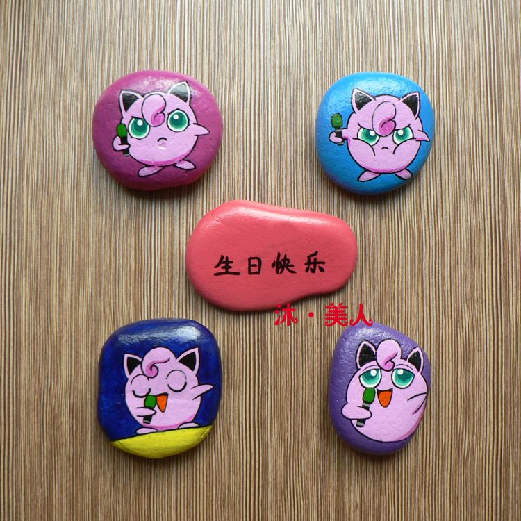 Hand Painted Stone Painting Pokemon Pebbles And Stones