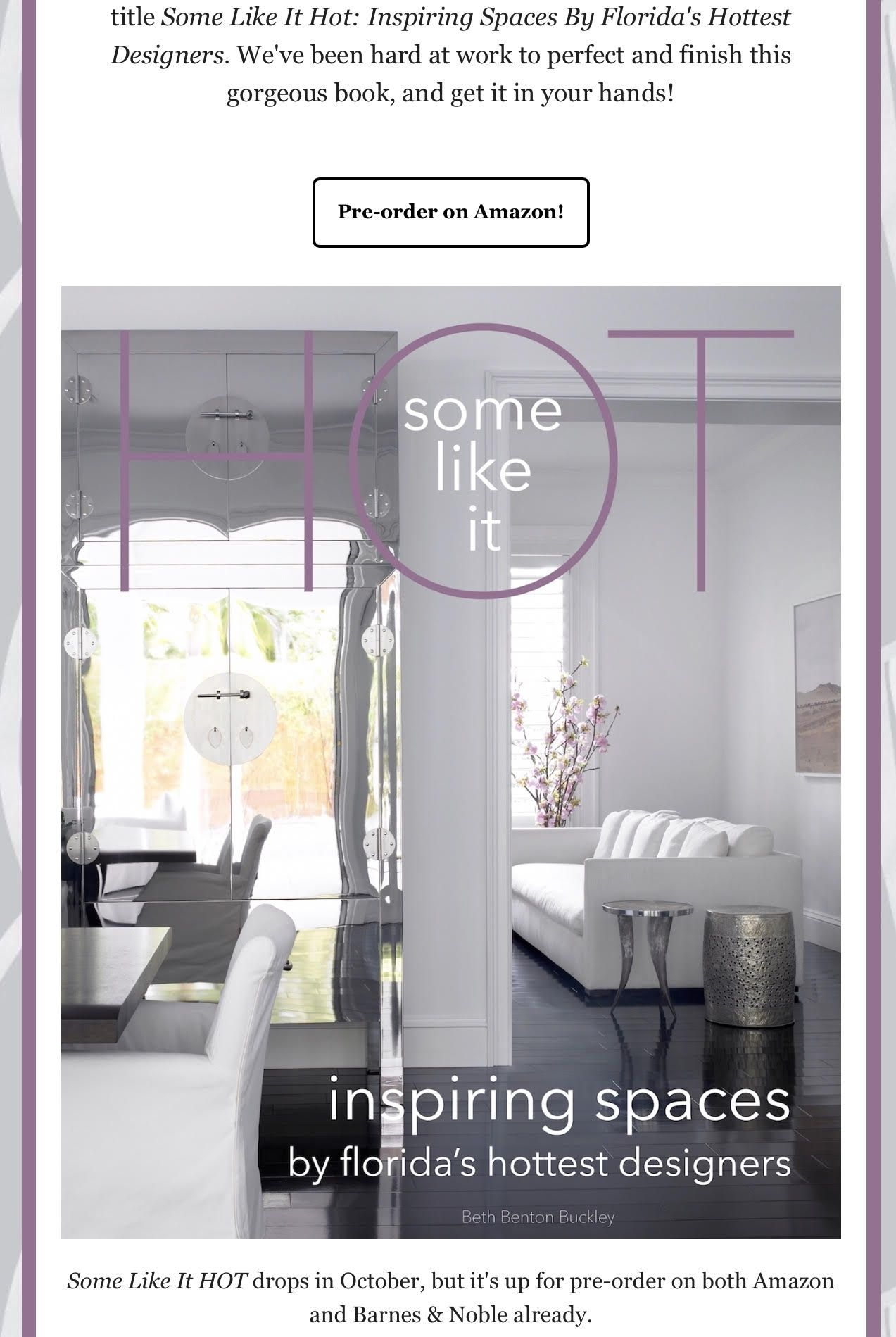 Leili Design Studio Is Thrilled To Announce We Ve Been Selected To