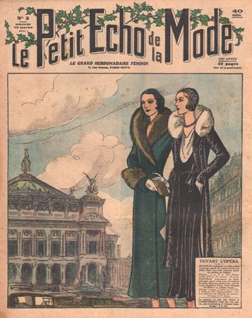 Lady's Fashions from the 1930s, Paris Fashion