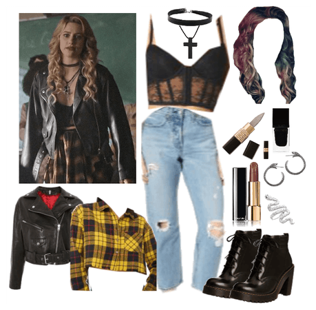 Young Alice Cooper In 2020 Riverdale Fashion Bad Girl Outfits Betty Cooper Outfits