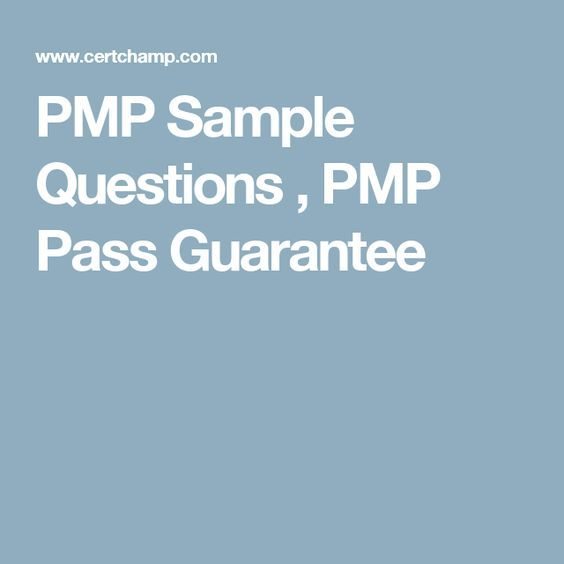 Pmp sample questions pmp pass guarantee pmp pinterest pmp pmp sample questions pmp pass guarantee yadclub Gallery