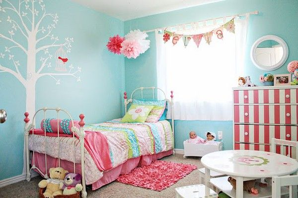 Turquoise And Pink Little Girl Rooms Google Search Girls Room Design Teal Girls Rooms Pink Girl Room