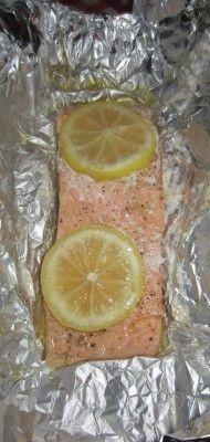 Cena ligera, rica y sana: salmón en papillote