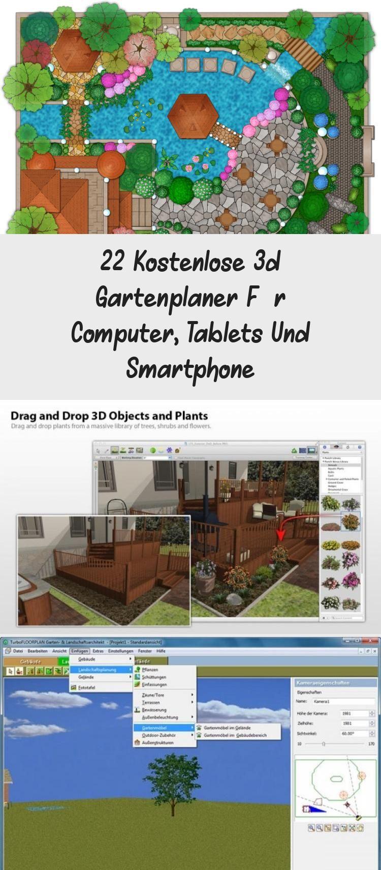 22 Kostenlose 3d Gartenplaner Fur Computer Tablets Und Smartphone In 2020 Planting Flowers Plants Smartphone
