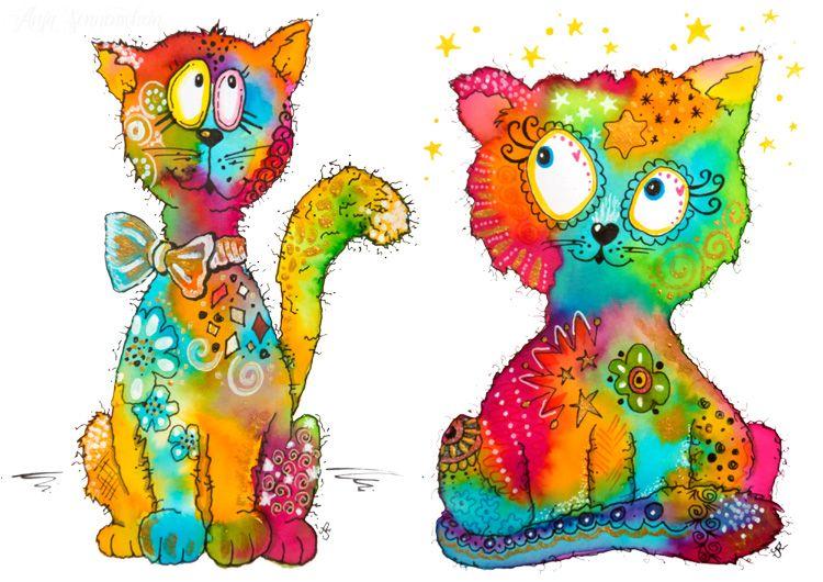 My colorful crazy world – anja-sonnenschein