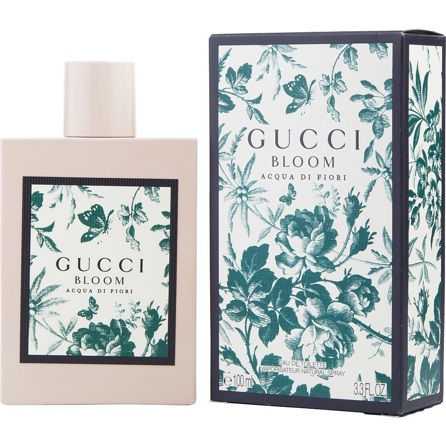 Gucci Bloom Acqua Di Fiori For Women Eau De Toilette Bloom Perfume Gift Sets