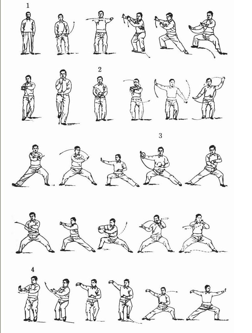 Chen Style Movements Pages 1 16 Chinese Martial Arts
