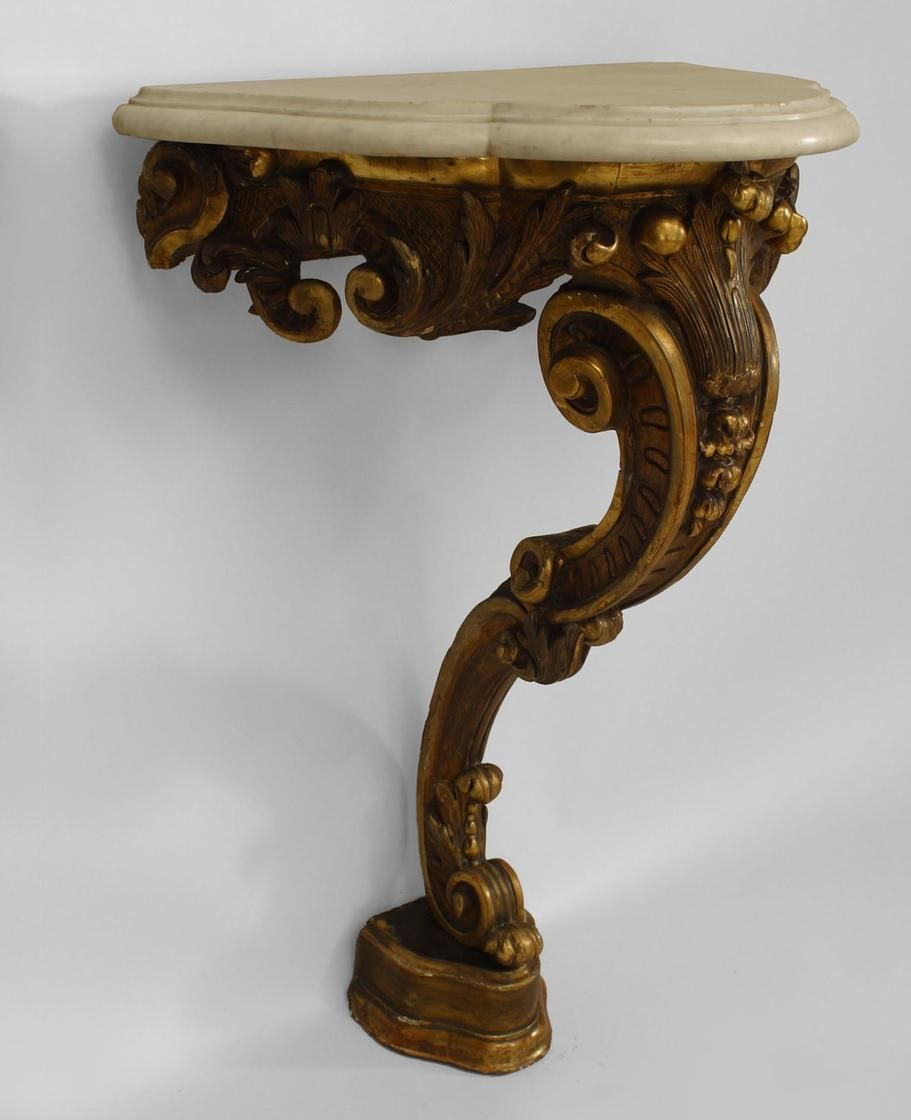 Victorian furniture table - French Victorian Table Console Table Gilt