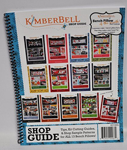 Kimberbell Bench Pillow of the Month Patterns KD184G
