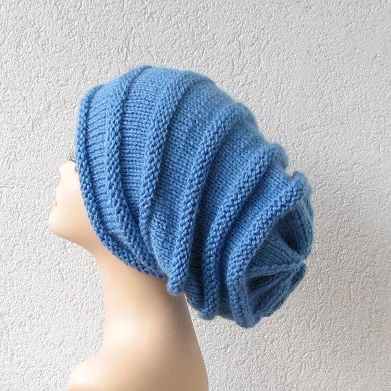 Extra Long Slouchy Beanie Dread Tam Hat by AlbadoFashion on Etsy, $35.00