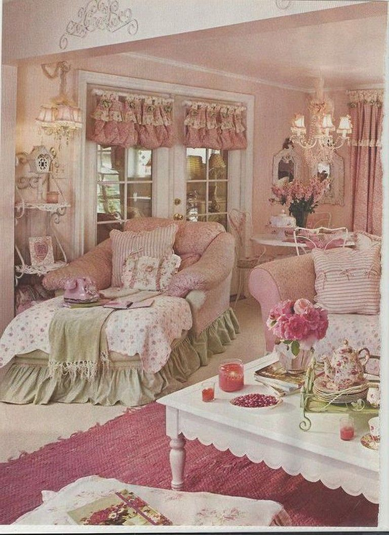 17+ Awesome Vintage Living Room Decorating Ideas Shabby