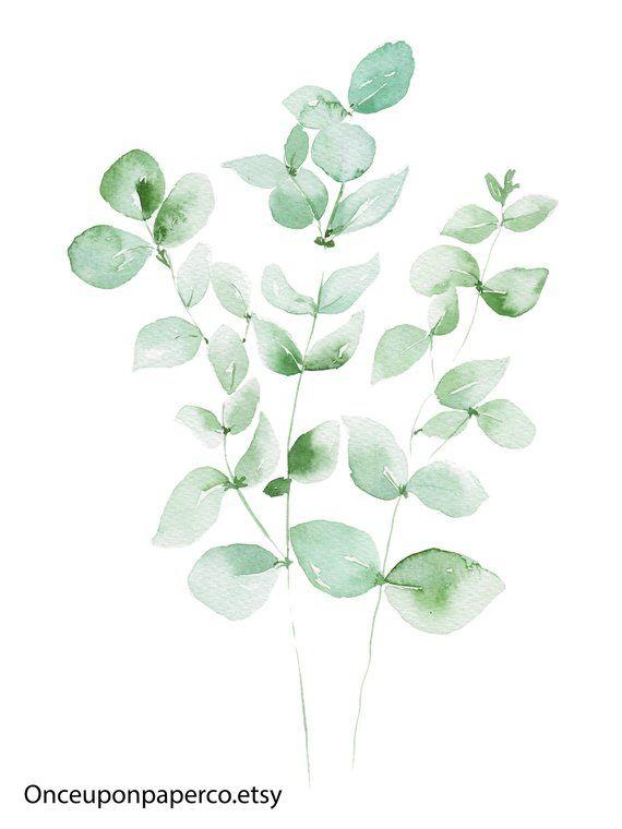 Eukalyptusblätter, tropisches Blatt druckt, Eukalyptus, Geschenk für sie, Geburtstagsgeschenk, tropisches Blatt drucken, grünes Blatt Wandkunst, botanische Kunst #50anniversary