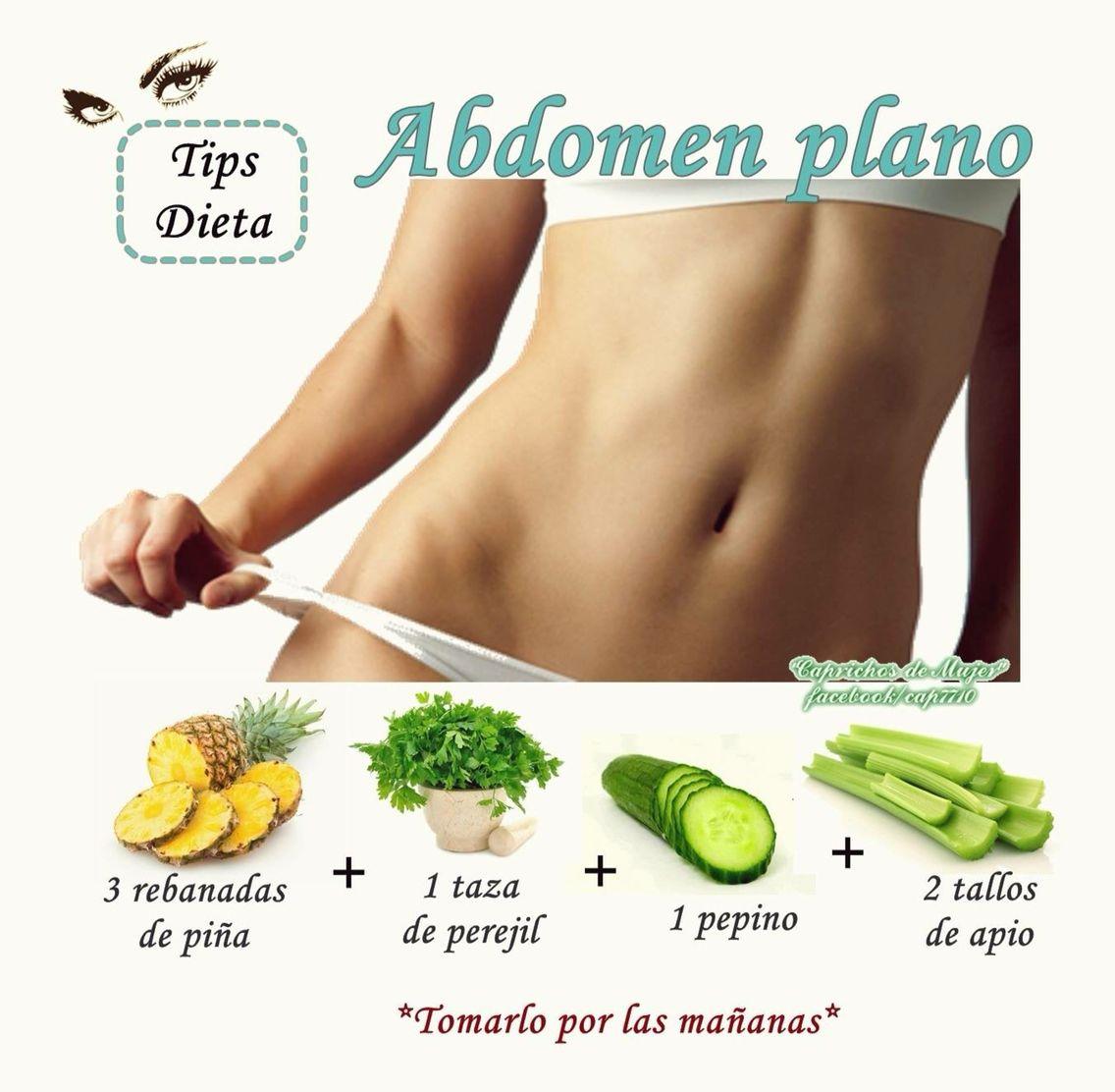 dieta para abdomen mujer