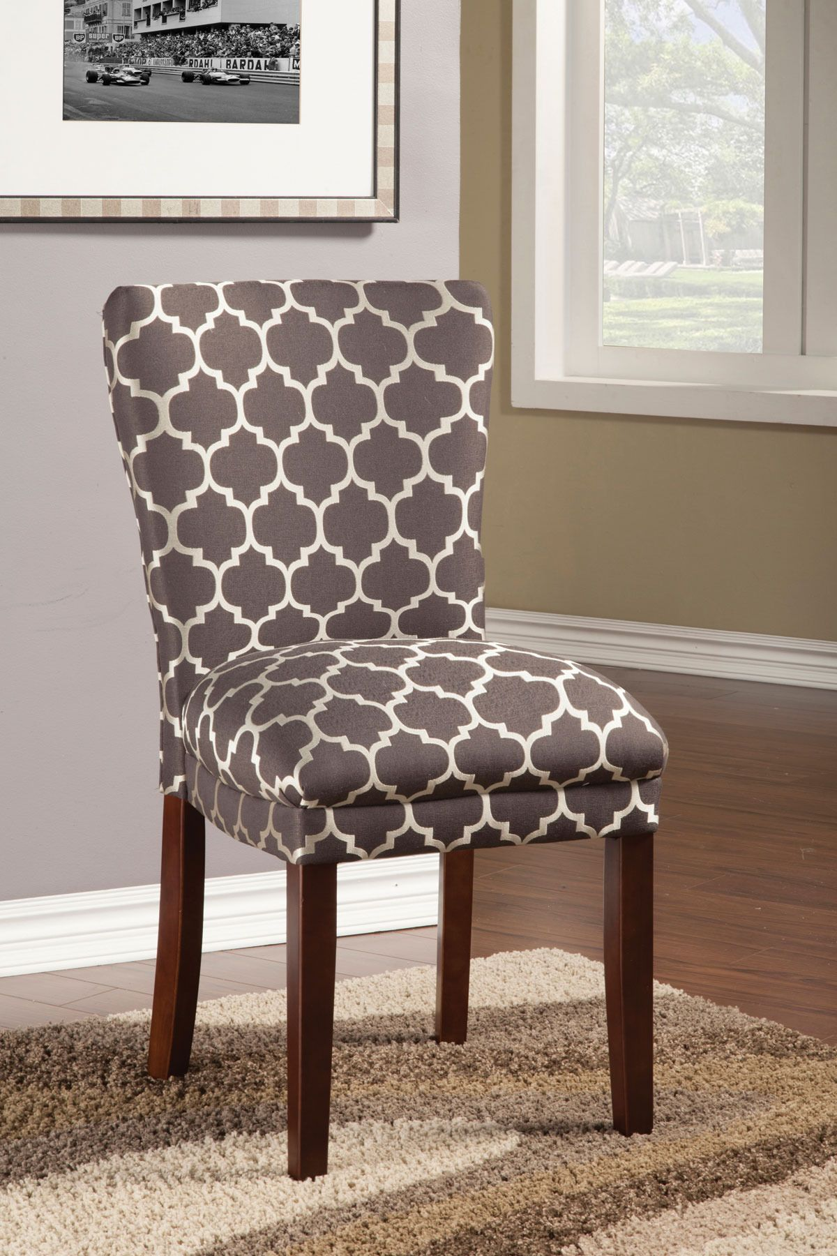 Patterned Dining Side Chair Coaster Home Gallery