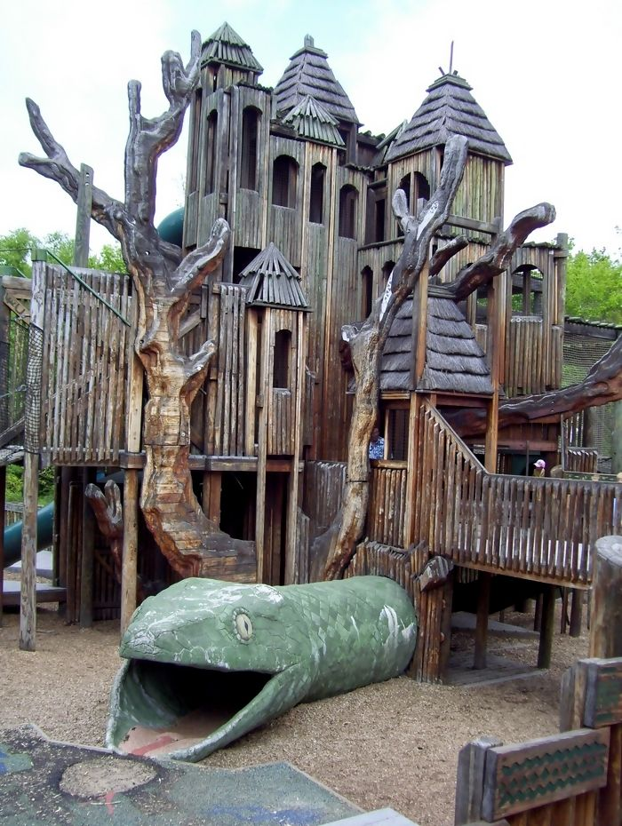 Swing From The Nashville Zoo's Playground | Cool ...