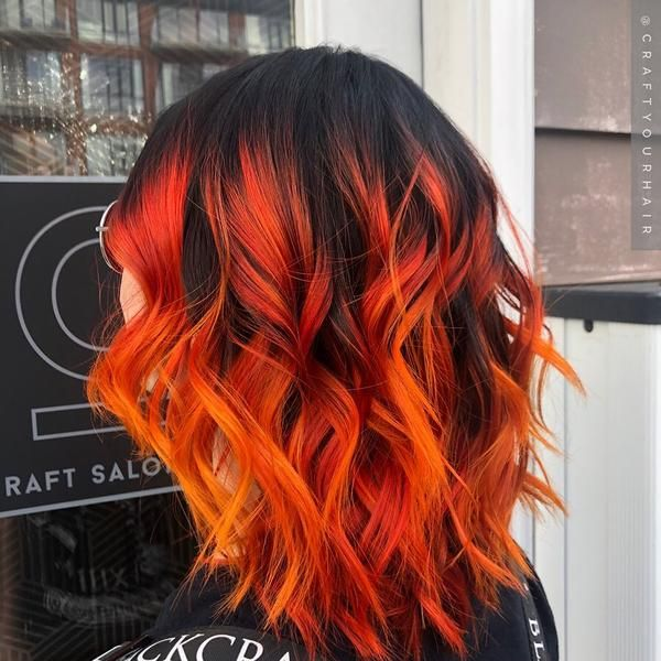Arctic Fox Hair Color Spotlight | Sunset Orange