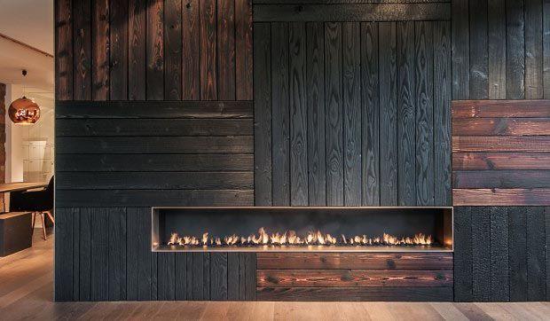 la technique shou sugi ban ou bois br l. Black Bedroom Furniture Sets. Home Design Ideas