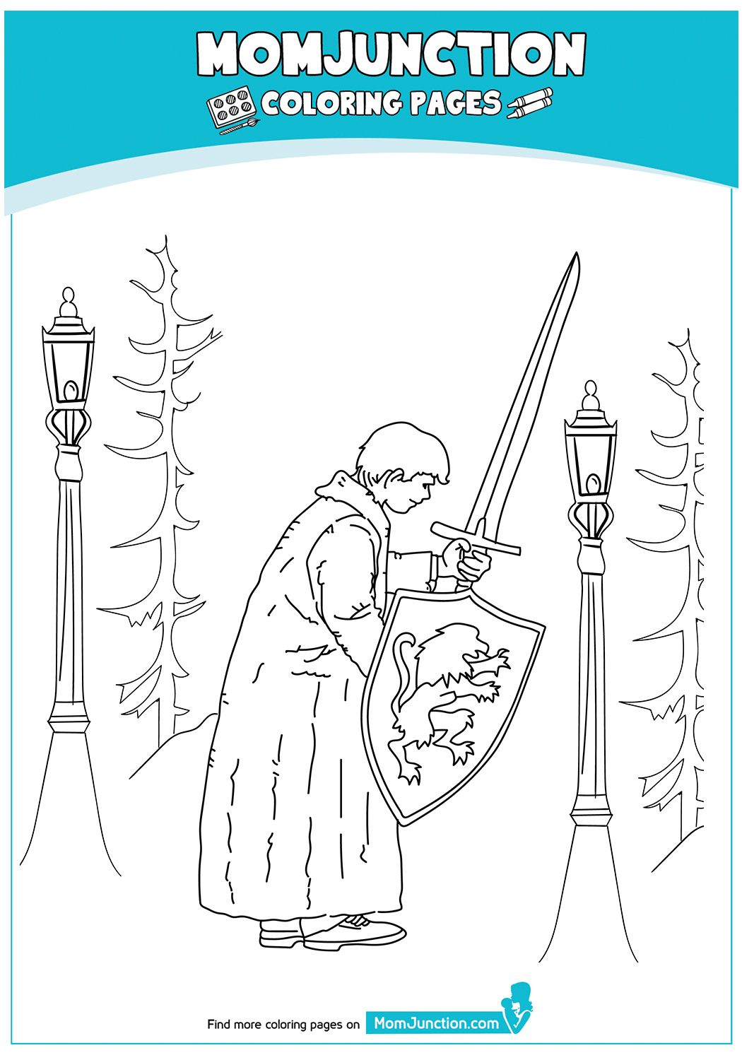 PeterPevensie17 Mom junction, Coloring pages