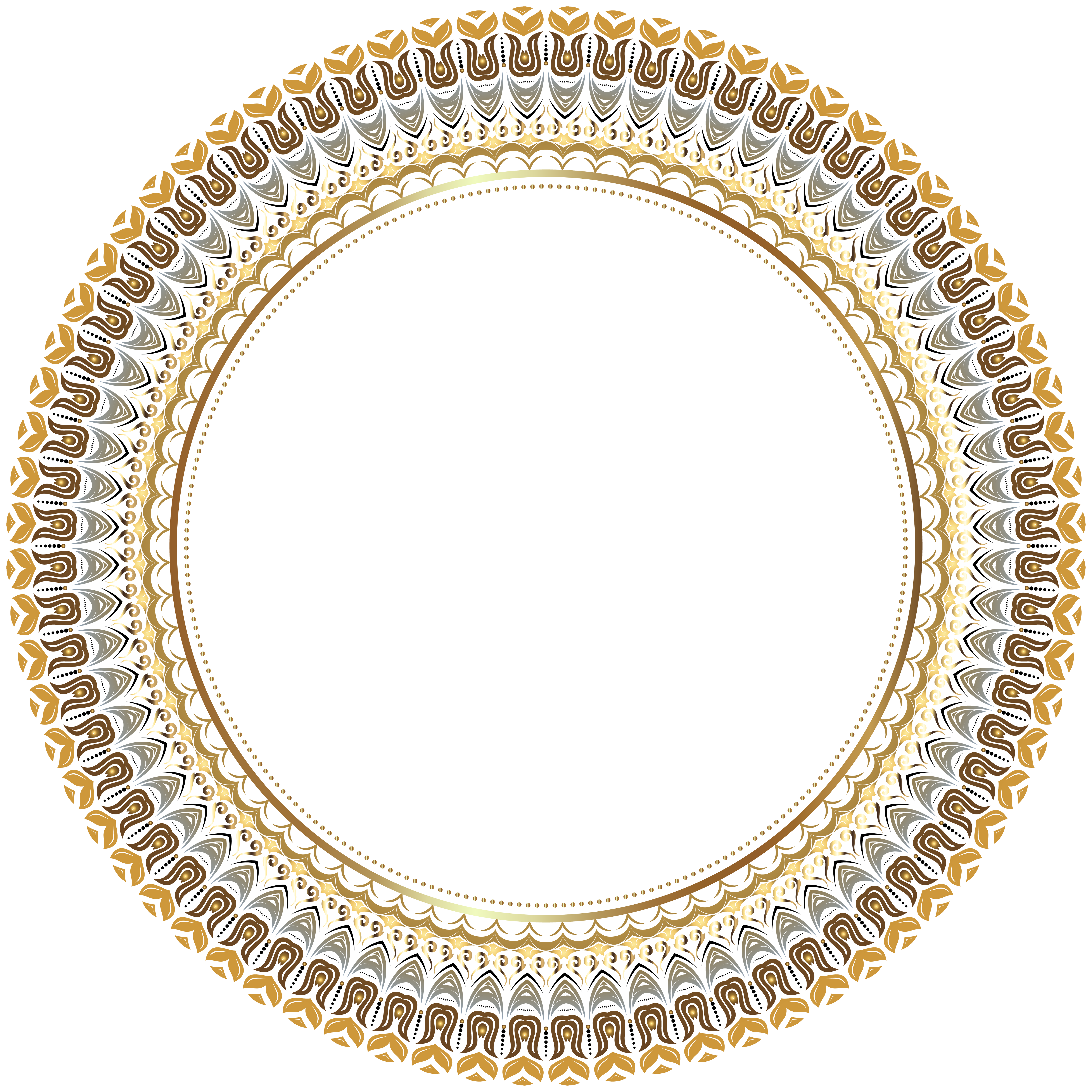 Round Border Frame Transparent Png Clip Art Image Gallery Yopriceville High Quality Images And Transparent Png Free Cli Bingkai Bingkai Foto Desain Grafis
