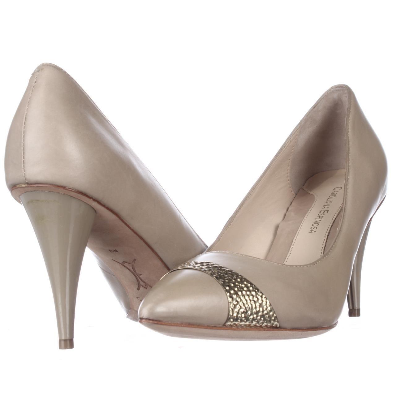 Carolinna Espinosa Desi Classic Heels Sand Leather 8 Us Pumps Nudepumps Nudeheels Heels Classic Classy Shoes Fashi Classic Heels Heels Pumps Heels